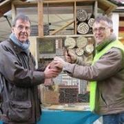 Construction boite à insectes
